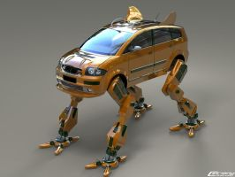 robo car by cipriany