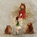 Fairy and Owls by ArtGalla