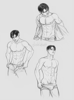 Levi Sketches by Dinklebert