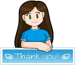 Thank You! by DoubleLeggy