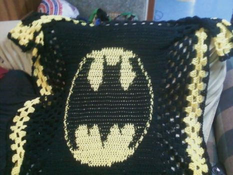 Batman Blanket by queenbeira