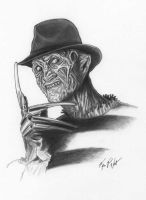 Freddy Krueger by FREAKCASTLE