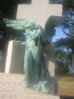 angel statue 01 by CotyStock