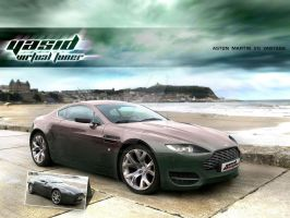 Aston Martin V8 Vantage by yasiddesign