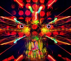 Electric Faced by Tyger-graphics