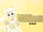 Manga Princess Serenity Wallpaper by LaMoonstar