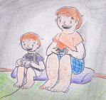 A Life of Gaming (practice) by jebug29