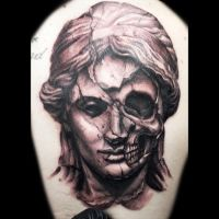 Statue Tattoo by DanielPokorny