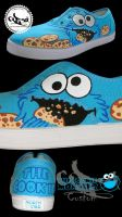 THE COOKIE MONSTER by CODE-1