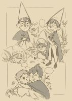 Over the garden wall by saspy