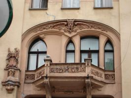 Balcony1 by Comacold-stock