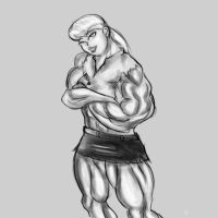 Muscle Emmylou Brown by NeroScottKennedy