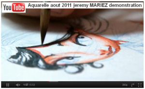 Aquarelle demonstration by choptider