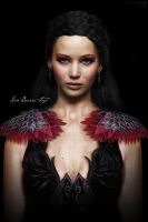 Katniss Everdeen - Capitole Party Scene by kim-beurre-lait