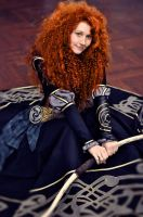 Merida - black dress by Zoisite-Virupaksha