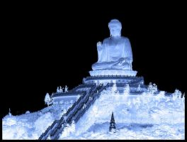 Blue Buddha 4 by notasitis