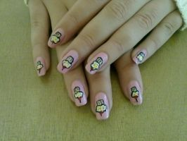 Cupcake nail design by KikyBee