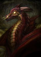 Smaug of the Mountain by Deems
