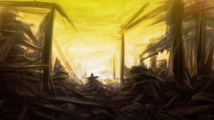 Concept Art: Destruction by ange-of-the-top-hat