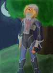 Sheik in the Moonlight by SwordOfLegends