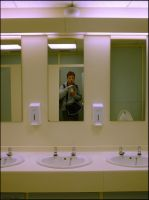 Three Mirrors and Me by lupercal