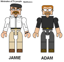 TV Minimates MythBusters by Lee-At-Arms