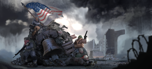 Liberty's last stand. by Careboxz
