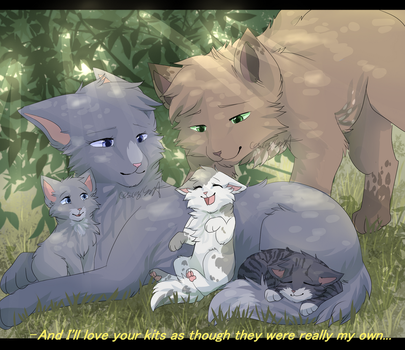 As though they were my really own by CascadingSerenity