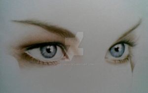 liv tyler eyes (WIP) by Dee-java
