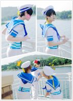 Free! I'm ready to jump in to the water~ by Asuka10