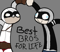 Alex and Altair : BEST BROS FOR LIFE!!! by altair9844