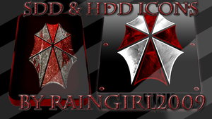 SDD and HDD Icons by RainGirl2009 by RainGirl2009