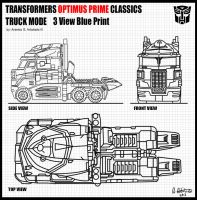 Transformers Optimus Prime Classics by archaznable30