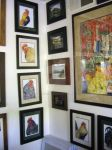 Chicken Portraits Hung 1 by HouseofChabrier