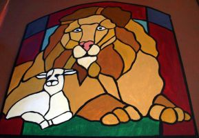 The Lion and the Lamb by EpicPseudonym