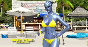 Liara T'Soni   BAR-HOSTESS by blw7920