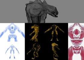 Creature 3D by strother