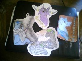 Batch O Badges. Taking commissions like these! by ShadowAndFrost