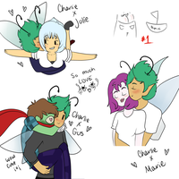 Shippies set 1 by Ask-Charlie-Fairy