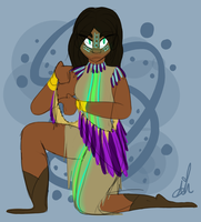 Tribal Witch by Universal-Tiger