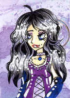 ACEO Commission: Hecate by valurauta
