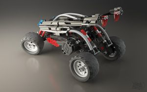 Lego RC Buggy - Shot 4 by pixelquarry