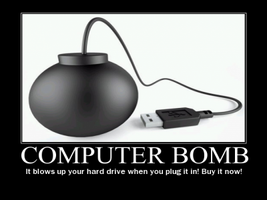 the computer bomb by Weirddudeguy