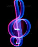 Treble Clef of Light by Pawkeet