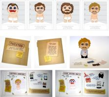 Serial Killer Paper Dolls by twss-design