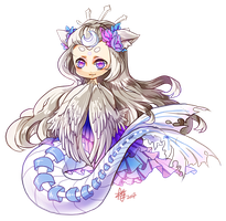 Mermaid of the stars by Meifall