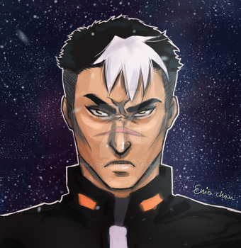 Space daddy! by Enia-chan