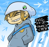Evil Ex 8- James Chen by BladeXD