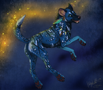 Painted Dog by CunningFox