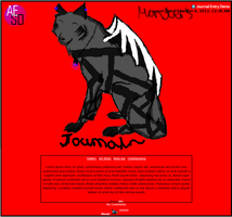The-Demon-Hybrid's Journal CSS Commission by AESD